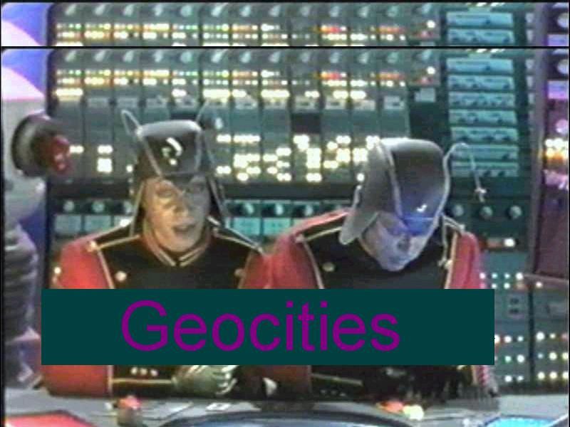 Yahoo! GeoCities